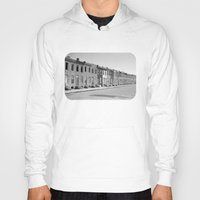 baltimore Hoodies featuring East Baltimore by Andrew Mangum