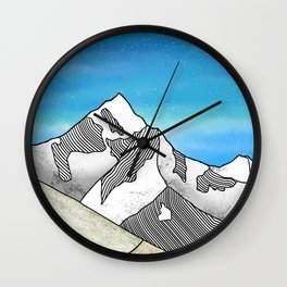 Mt Everest Wall Clock
