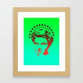 Bergman Alligator Icon Framed Art Print