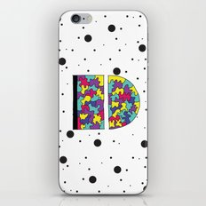 Letter D iPhone & iPod Skin
