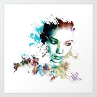 asia Art Prints featuring Asia by J. Ekstrom