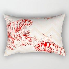 Territorial Rectangular Pillow