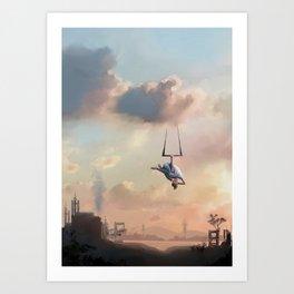 Circus Dreams Art Print