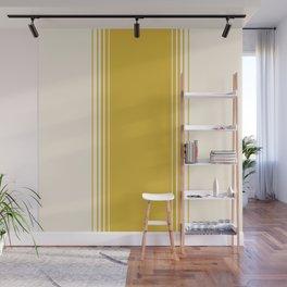 Marigold & Crème Vertical Gradient Wall Mural