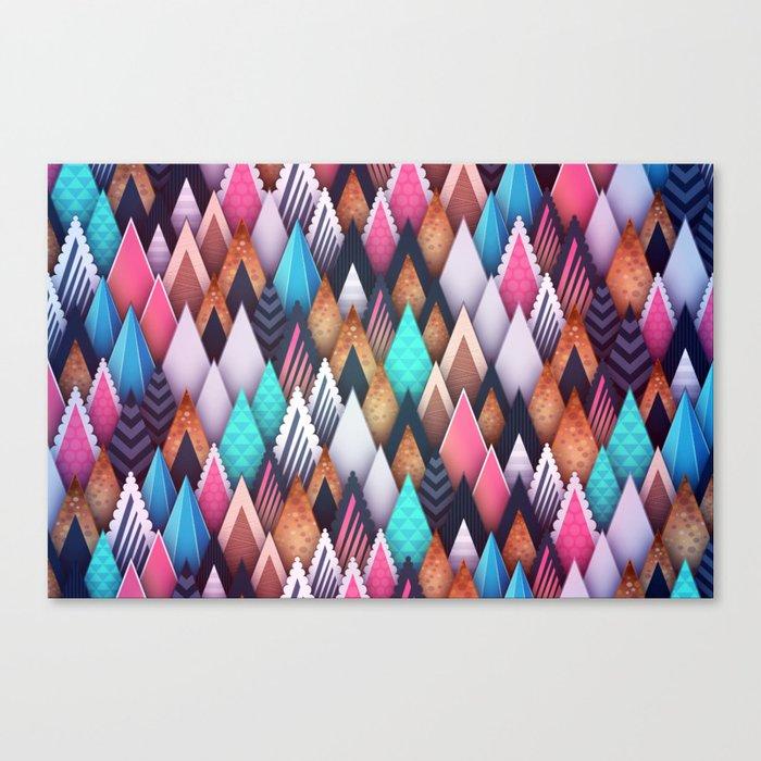 Background pattern 4 Canvas Print