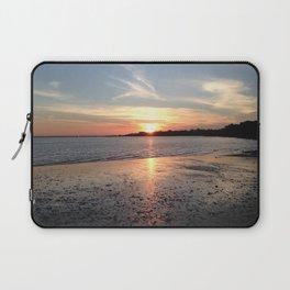 Sunset at the Beach - Greg Katz Laptop Sleeve