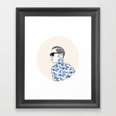 Inked #2 Framed Art Print