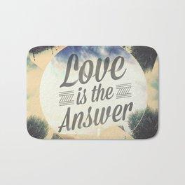 Love Is The Answer / Design Bath Mat