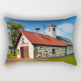 Old traditional firehouse II | architectural photography Rectangular Pillow