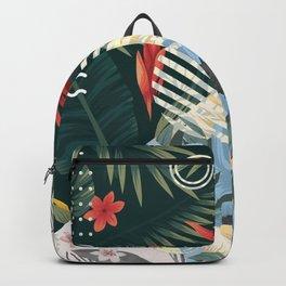 Floral Memphis Backpack