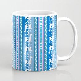 Llamas_Pink and BlueSky Coffee Mug