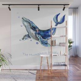 Whale Artowrk, Humpback Whale Wall Mural