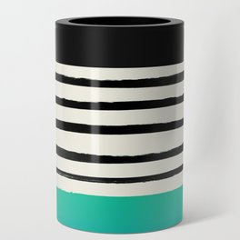 Mermaid & Stripes Can Cooler