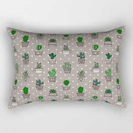 Cactus & Succulents Rectangular Pillow