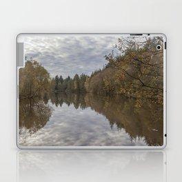 Autumn Lake Reflections Laptop & iPad Skin