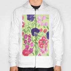 Floral Print Hoody