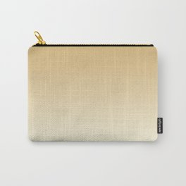 Pratt and Lambert Maple Sugar 9-23 and Dover White 33-6 Ombre Gradient Blend Carry-All Pouch
