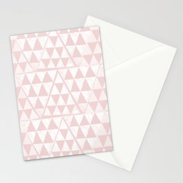 Triangles 3 Stationery Cards