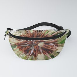 Dandelion after rain Fanny Pack