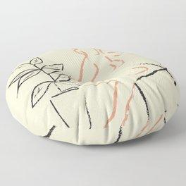 Nude Line Floor Pillow