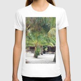 Bungalows on Palm Beach T-shirt