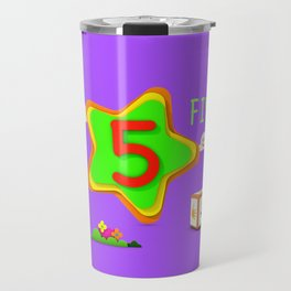 Number five - Kids Art Travel Mug