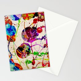 Abstract Expressionism 2 Stationery Cards