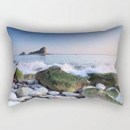Rocky Tide Rectangular Pillow