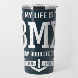 BMX Racing Travel Mug