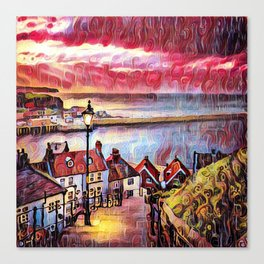 Sweet Whitby Canvas Print