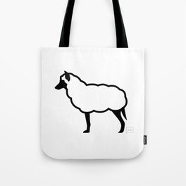 The Wolf in Sheep's Clothing Tote Bag