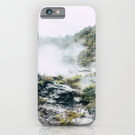 Steaming Earth iPhone Case
