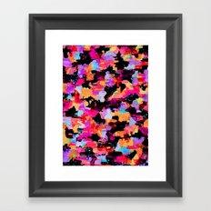Threshold Camo Framed Art Print