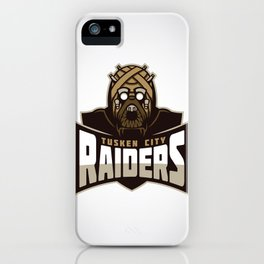 Tusken City Raiders iPhone Case