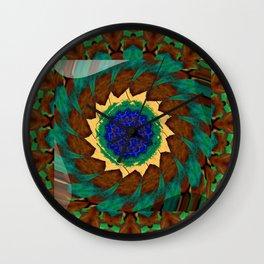 Whirly Twirly Nausea Wall Clock