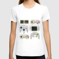 gamer T-shirts featuring Gamer Nostalgia by discojellyfish