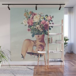 Flower-ism Wall Mural