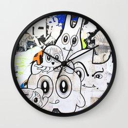 Sugar Monsters Wall Clock