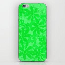 Floral Dreamstate Fuchsia iPhone Skin