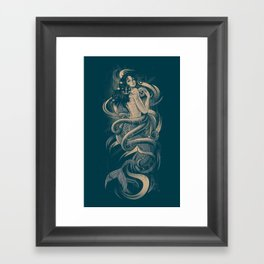 Sirena Framed Art Print