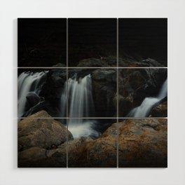 Waterfalls Wood Wall Art