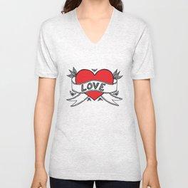 Declare your love! Unisex V-Neck