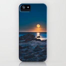 Under The  Ocean Moonlight iPhone Case