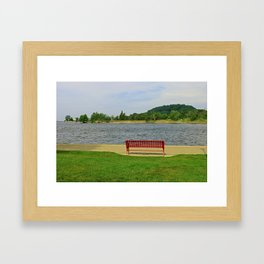 A Reason to Smile Framed Art Print