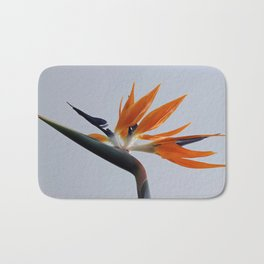 The bird of paradise flower Bath Mat