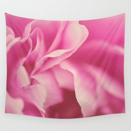 pink peony #2 Wall Tapestry