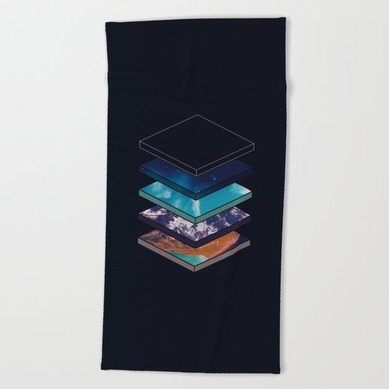 Layers Beach Towel