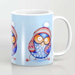 Winter Hat Owl Coffee Mug
