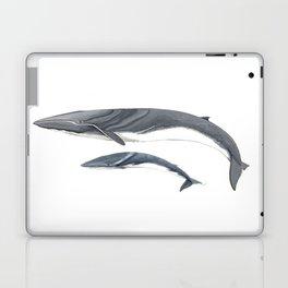 Fin whale Laptop & iPad Skin