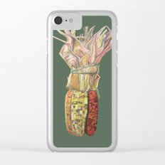 Colorful Corn for Thanksgiving, Autumn, Harvest, and the Holidays Clear iPhone Case